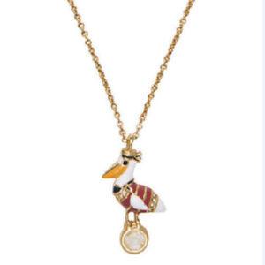KATE SPADE Taking Flight Mini Pelican Necklace